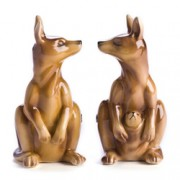 Magnetic Salt & Pepper Kangaroos