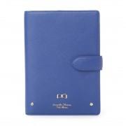 サマンサタバサプチチョイス リボンプレートシリーズ 手帳(ブルー) レディース