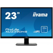 iiyama ProLite XU2390HS-B1 23' ULTRA slim LINE LED LCD 1920x1080 IPS 250 cd/m² 5M:1 ACR speakers VGA DVI & HDMI 5ms TCO6