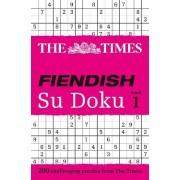 The Times Fiendish Su Doku: Book 1 by Wayne Gould