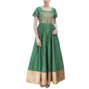 Emerald Green Anarkali