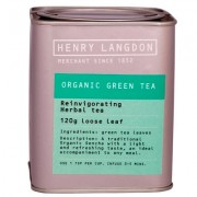 Organic Green Tea Tin 120g