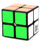 YongJun YJ8208 2x2x2 Brain Teaser Magic IQ Cube for Match - White + Black + Multicolored