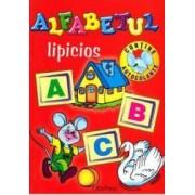 Alfabetul lipicios - Contine autocolante