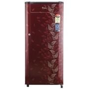 Whirlpool 190 L 4 Star Direct-Cool Single Door Refrigerator (205 Genius Cls Plus 4S, Wine Fiesta)