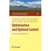 Optimization and Optimal Control by Altannar Chinchuluun