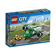 LEGO 60101 City Airport Cargo Plane Construction Set - Multi-Coloured