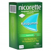 Nicorette 2mg freshmint Kaugummi 105 Stück