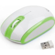 Mouse Laptop Wireless Optic Gembird MUSW-105-G Alb-Verde