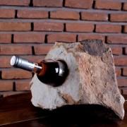 Suport sticle vin - Sandstone Mandras (5 gauri)