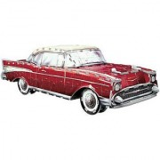 Chevy Bel Air 1957 299 Piece 3D Jigsaw Puzzle Made by Wrebbit Puzz-3D