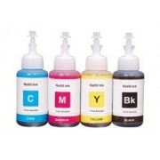 Compatible Splashjet 75ml Ink for Epson pack of 4 colors(cyan,magenta,yellow,black)