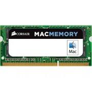 Corsair CMSA4GX3M1A1333C9 Apple Mac Memoria da 4 GB (1x4 GB), DDR3, 1333 MHz, CL9, SODIMM, Certificata Apple