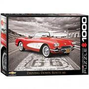 1959 Corvette 1000-Piece Puzzle