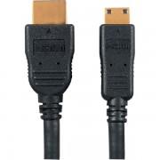 Panasonic Cablu HDMI (tip C) - mini HDMI (Tip A) Panasonic RP-CHEM30E-K