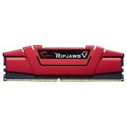 gskill F4 - 3000 C15S 16gvr Ripjaws V modulo di memoria 16 GB (D4 3000, C15, 1,35 V) rosso