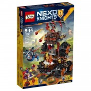 Lego - nexo knights - la macchina d'assedio del generale magmari 70321