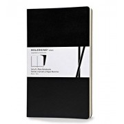 Moleskine Volant Large Plain Black