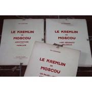 G.K. Loukomski : Le Kremlin De Moscou / Architecture Mobilier / L'art Décoratif Religieux / Le Palais Et Le Musée Des Arts Décoratifs. Editions Nilsson