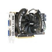 MSI N460GTX Cyclone 1GD5/OC - Carte graphique - GF GTX 460 - 1 Go GDDR5 - PCIe 2.0 x16 - 2 x DVI, Mini-HDMI