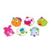 Small World All About Baby Farm Animals Squeezy Squirters, Set Of 6