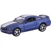Kinsmart Die-Cast Metal 2006 Ford Mustang Gt Sports (Blue)