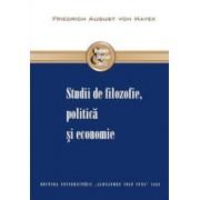 Studii de filozofie, politică şi economie