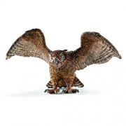 Schleich - 14738 - Figurine Animal - Hibou Grand-duc