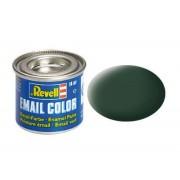 Dark green matt RAF makett festék Revell 32168