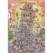 Dtoys Jigsaw Leaning Tower of Pisa DT61218CC01, Puzzle, 1000 pezzi