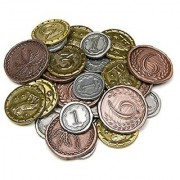Broken Token Dueling Metal Coins for 7 Wonders: Duel (31)