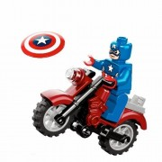 Marvel Lego Super Heroes Captain America and Motorcycle