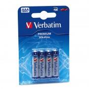 Pilas Alcalinas AAA Verbatim (4 Uds)