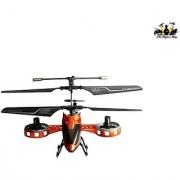The FlyerS Bay 4 Channel Rc Fighter (Orange)