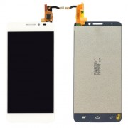 iPartsBuy LCD Screen + Touch Screen Digitizer Assembly for Alcatel One Touch Idol X / 6040 / 6040A(White)