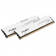 Memorie Kingston HyperX Fury White 16GB DDR3 1866MHz CL10 Dual Channel Kit