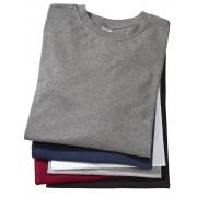 Big Size T-Shirt, schwarz Gr.XXXXL