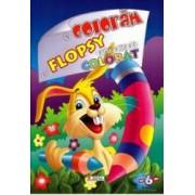 Sa coloram cu Flopsy - Cartea mea de colorat