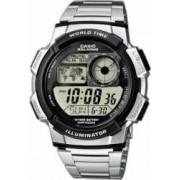 Ceas Casio pt. Barbati Argintiu AE-1000WD-1AVEF Silver
