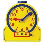 Learning Resources - Primary Time Teacher, Orologio per imparare a leggere l'ora [lingua inglese]