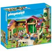 Playmobil Barn With Silo Construction Set