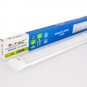 Armadura compacta LED 50W 150cm Luz Fria 4.000Lm SLIM