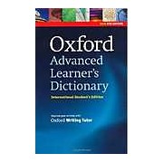 Oxford Advanced Learner's Dictionary - International Student's Edition with CD-ROM and Oxford Writing Tutor