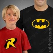 T-shirts Batman Robin Criança