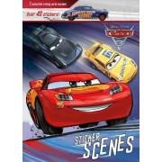 Disney Pixar Cars 3 Sticker Scenes by Parragon Books Ltd