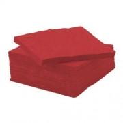 HANKE TISSUE Serwetki 2w 24x24, pacz. 200szt- czerwone
