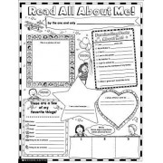 Read All about Me Instant Personal Poster Set, Grades K-2 by Scholastic Books
