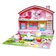 Sanrio Japan Hello Kitty Play House Set Good Friend House