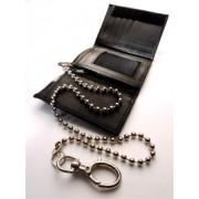 MisterB Nylonová peňaženka s retiazkou