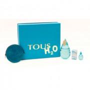 Tous Tous H2O, Toaletná voda 100ml + Edt 4,5ml + peňaženka